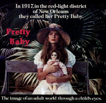 Pretty Baby Poster | www.moviegoods.com